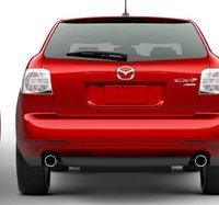 2012 Mazda CX-7, Back View. , exterior, manufacturer