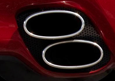 2012 Lexus IS F, Close-up of exhaust., exterior, manufacturer