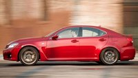 2012 Lexus IS F, Side View. , manufacturer, exterior