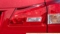 2012 Lexus IS F, Close-up of tail light., exterior, manufacturer
