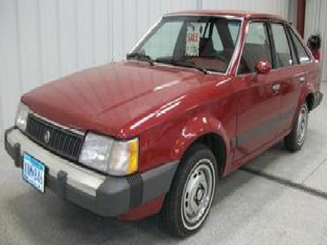 Picture of 1986 Mercury Lynx, exterior, gallery_worthy