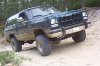 1993 Dodge Ramcharger 2 Dr 150 Canyon Sport 4WD SUV picture When I first purchased it .This is not a stock photo , this is my RC prior to new wheels and some body work . , exterior, gallery_worthy
