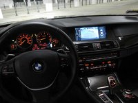 2011 BMW 5 Series 550i picture, interior
