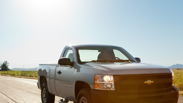 2012 Chevrolet Silverado 1500, exterior right front quarter view, exterior, manufacturer