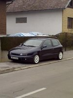 2000 FIAT Bravo, white wheels, exterior