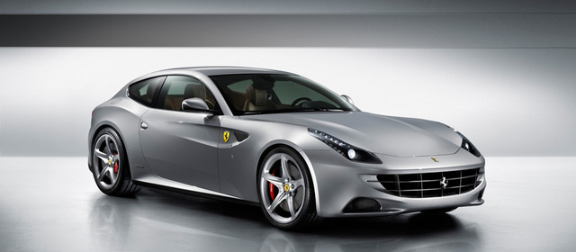 2012 Ferrari FF, exterior right quarter view, exterior, manufacturer, gallery_worthy
