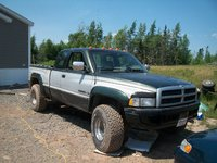 1996 Dodge Ram Pickup 1500 2 Dr Laramie SLT 4WD Extended Cab SB picture, exterior