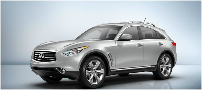 2012 Infiniti FX35, Side view, exterior, manufacturer