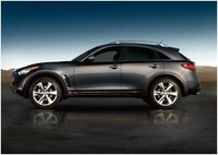 2012 Infiniti FX35, Side view, manufacturer, exterior