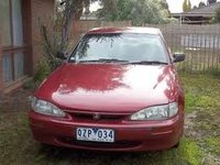 1997 Holden Apollo Overview