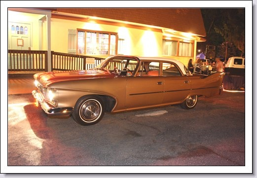 My 1960 Plymouth At The Colorado Cafe Cruise Night-Scotch Plains NJ