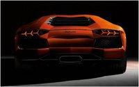 2012 Lamborghini Aventador, Rear, exterior, manufacturer
