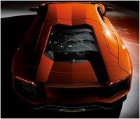 2012 Lamborghini Aventador, Rear view, exterior, manufacturer, gallery_worthy