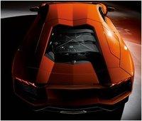 2012 Lamborghini Aventador, Rear view, exterior, manufacturer