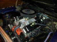 1975 Chevrolet Camaro picture 496 BBC, engine