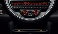 2012 MINI Cooper Coupe, Close-up of stereo. , interior, manufacturer