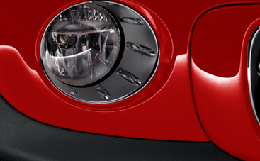 2012 MINI Cooper Coupe, Close-up of headlight. , exterior, manufacturer