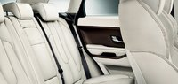 2012 Land Rover Range Rover Evoque, Back Seat. , manufacturer, interior