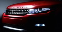 2012 Land Rover Range Rover Evoque, Close-up of headlight., exterior, manufacturer