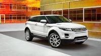 2012 Land Rover Range Rover Evoque, Front quarter view. , exterior, manufacturer