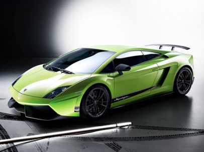 2012 Lamborghini Gallardo, Front quarter view copyright AOL Autos. , exterior, manufacturer