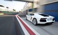 2012 Lamborghini Aventador, Back View., exterior, manufacturer