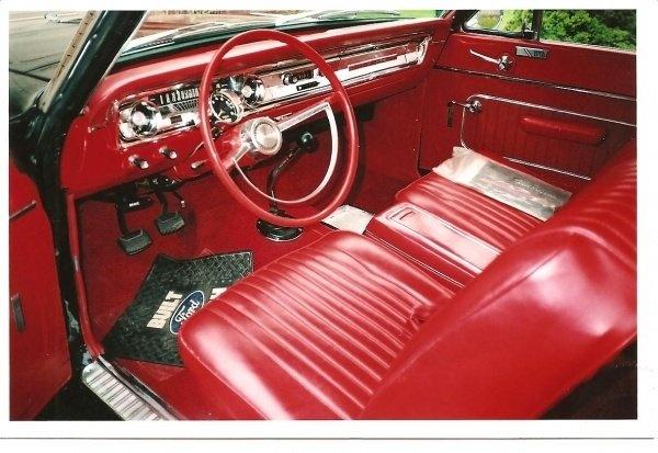 picture of 1965 ford falcon interior