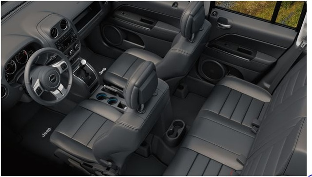 2012 Jeep Patriot, Interior Seating, Interior, Manufacturer, Gallery_worthy Design