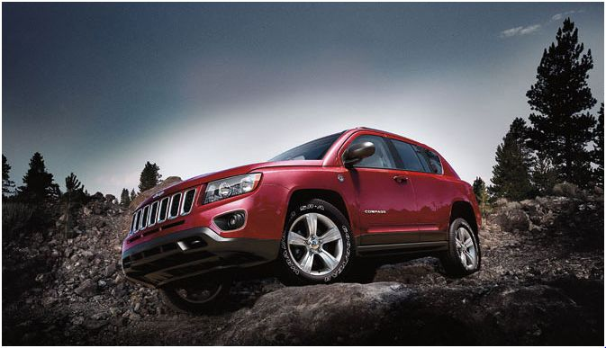 2012 Jeep Compass, Side view, manufacturer, exterior