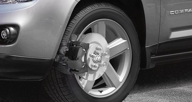 2012 Jeep Compass, Front tire. , exterior, manufacturer
