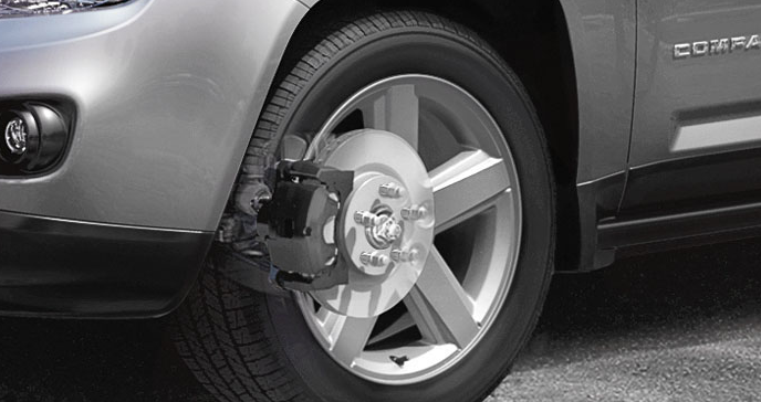 2012 Jeep Compass, Front tire. , exterior, manufacturer
