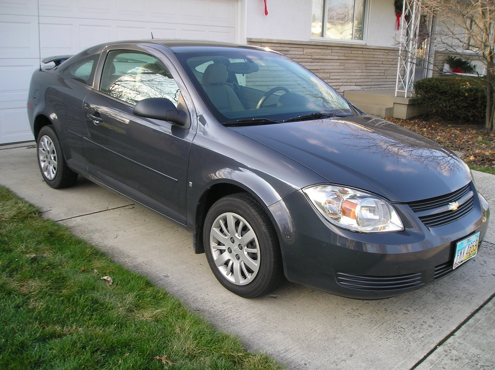 I have a 2009 cobalt ls coupe the color of it is slate metallic i have yet to see another cobalt of this color on any of the many cobalt websites