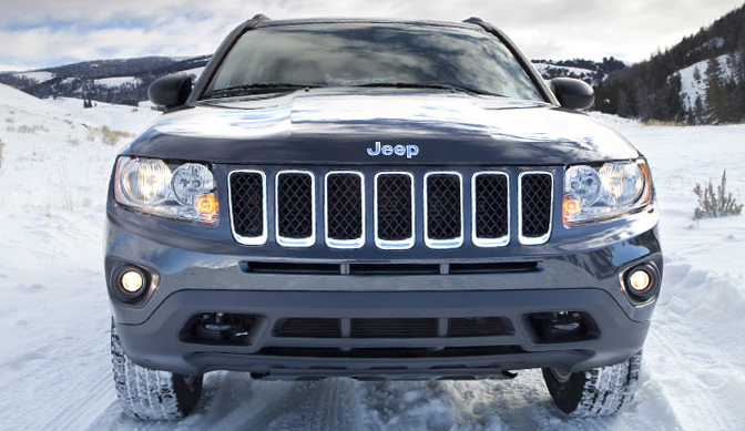 2012 Jeep Compass, Front View. , manufacturer, exterior