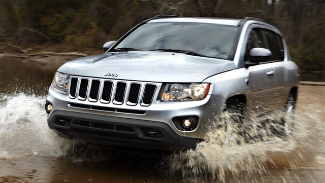 2012 Jeep Compass, Front quarter view. , exterior, manufacturer