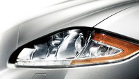 2012 Jaguar XJ-Series, Close-up of headlights. , exterior, manufacturer, gallery_worthy