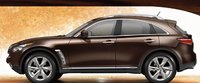 2012 Infiniti FX50, Side View. , exterior, manufacturer