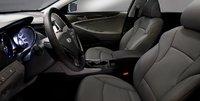2012 Hyundai Sonata Hybrid, Front Seat. , interior, manufacturer