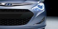 2012 Hyundai Sonata Hybrid, Front bumper. , exterior, manufacturer