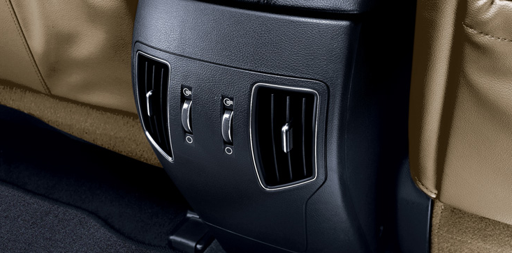 2012 Hyundai Sonata Hybrid, Close-up of air vents. , manufacturer, interior
