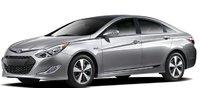 2012 Hyundai Sonata Hybrid, Front quarter view. , exterior, manufacturer