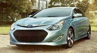 2012 Hyundai Sonata Hybrid, Front View. , exterior, manufacturer