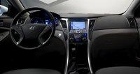 2012 Hyundai Sonata Hybrid, Front Seat., interior, manufacturer