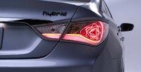 2012 Hyundai Sonata Hybrid, Taillight. , exterior, manufacturer