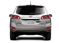 2012 Hyundai Santa Fe, Back View. , exterior, manufacturer, gallery_worthy