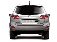 2012 Hyundai Santa Fe, Back View. , exterior, manufacturer