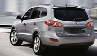2012 Hyundai Santa Fe, Back quarter view. , exterior, manufacturer