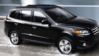 2012 Hyundai Santa Fe, Front quarter view. , exterior, manufacturer, gallery_worthy