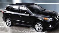 2012 Hyundai Santa Fe, Front quarter view. , exterior, manufacturer