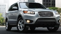 2012 Hyundai Santa Fe, Front View. , exterior, manufacturer, gallery_worthy