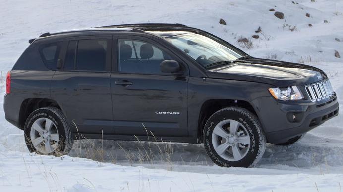 Jeep Compass, Front qaurter view. , exterior, manufacturer